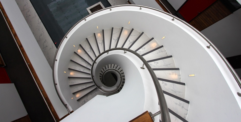Luxury Spiral Staircase