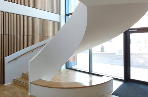 St Helen's School of Music - Feature stair interior view