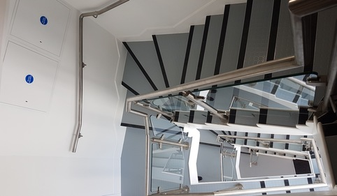 West London winding stair installation complete