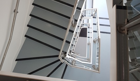 Horn Lane Winder stair installation