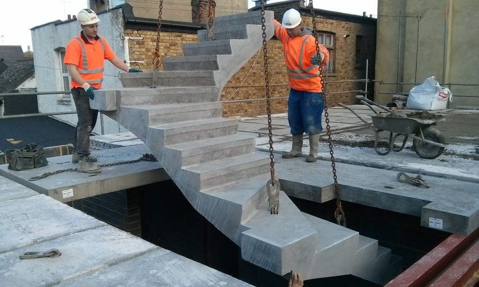 Winder Stair Installation