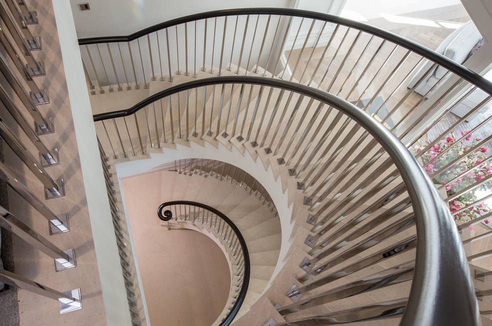 Twin Luxury Helical Staircase
