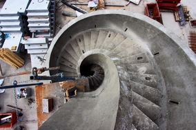 Spiral Stair around central column