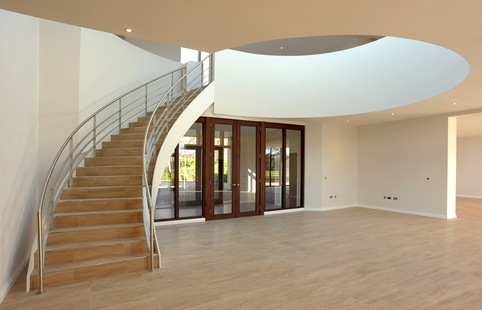 Chippenham Lodge, Cambridgeshire - Precast Concrete Curved Stair